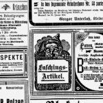 Fasching 1914
