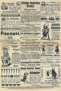 Fasching_1914_Brunecker_Schlutzkrapfen_anzeigen